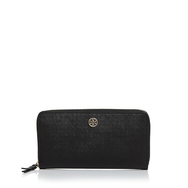 875cef235ac Shop Tory Burch Robinson Zip Continental Wallet - Free Shipping Today -  Overstock - 23449777