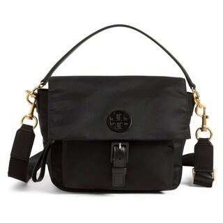 Tory Burch Tilda Nylon Crossbody Bag Black