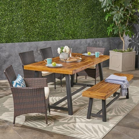 Size 6 Piece Sets Patio Furniture Find Great Outdoor Seating Dining Deals Shopping At Overstock