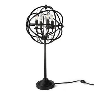 LNC 4-Light Orb Desk Lamps Sphere Bedside Table Lamp