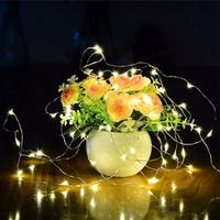 100 LED Copper Wire Light Energy-Saving Waterproof Home Decorative light -- 32ft