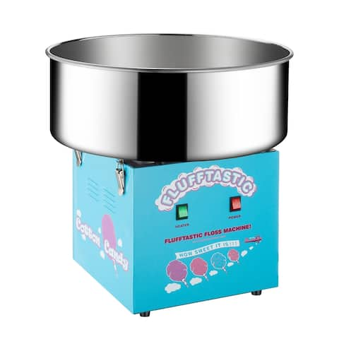 Great Northern Popcorn Cotton Candy Machine Flufftastic Floss Maker