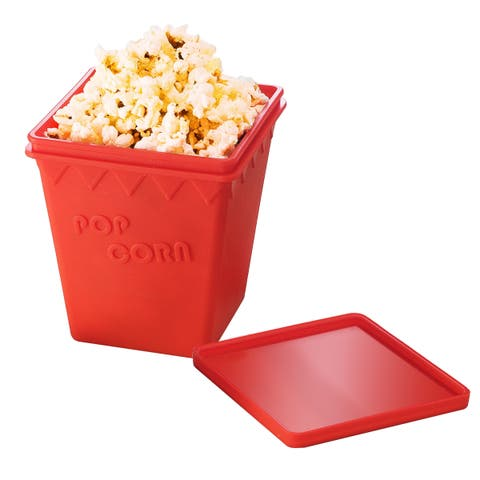 Great Northern Popcorn Silicone Microwave Popcorn Popper For Healthier Popcorn