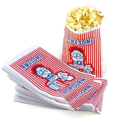 Great Northern Popcorn Case Premium Quality Movie Theater 2oz oz Popcorn Bags
