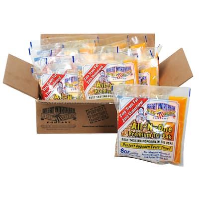 Great Northern Popcorn Premium 8oz Popcorn Portion Packs