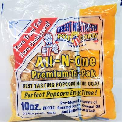 Great Northern Popcorn Premium 10oz Popcorn Portion Packs Cinema