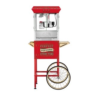 Great Northern 10 oz. Perfect Popcorn Machine with Cart - 10 oz