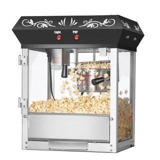 Great Northern Popcorn Foundation Top Popcorn Machine, 4oz - 4 oz