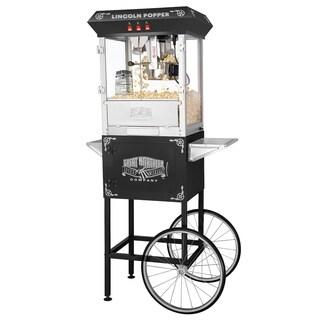 Great Northern Antique Style Lincoln Popcorn Machine w/Cart 8 oz - 8 oz