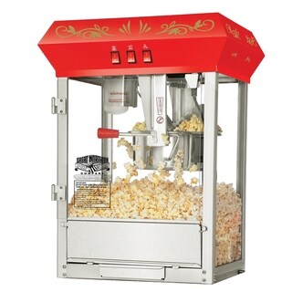 Great Northern Popcorn Red Countertop Foundation Popcorn Machine, 8oz - 8 oz