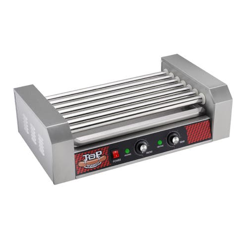 Great Northern Commercial Quality 18 Hot Dog 7 Roller Grilling Machine 1400Watts