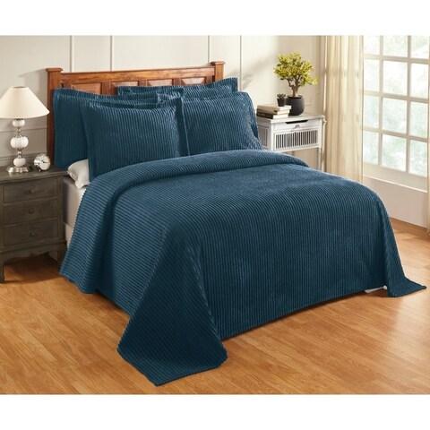 Julian Chenille Tufted Cotton Bedspread
