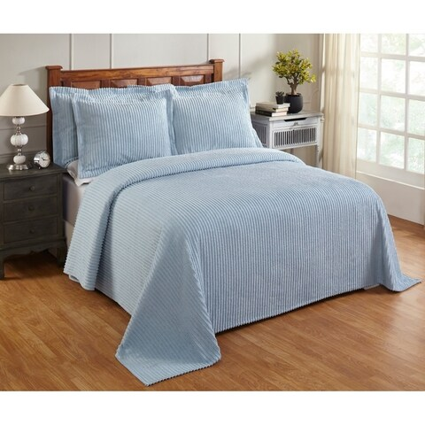 Julian Chenille Tufted Cotton Bedspread