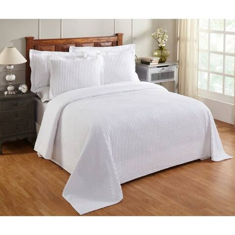 Better Trends Julian 100 Percent Cotton Tufted Chenille Bedspreads