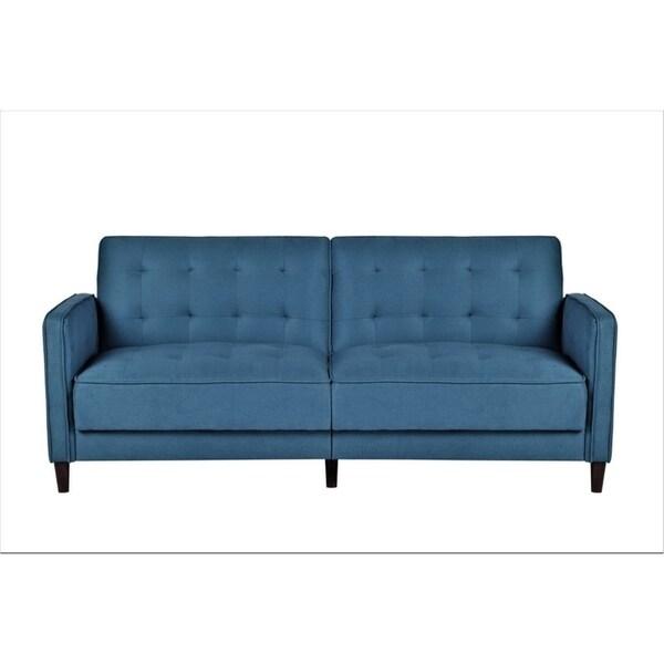 Shop Mid Century Garratt Velvet Upholstered Living Room