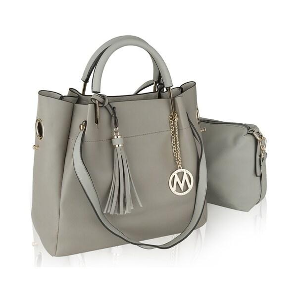 ba14d2d5da30 Shop MKF Collection Brielle Shoulder Handbag with Crossbody by Mia K ...