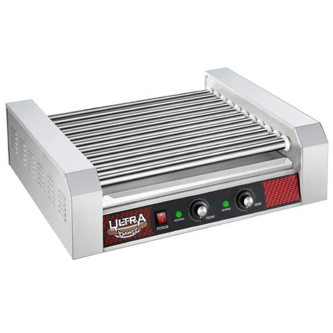 Great Northern Popcorn Commercial 30 Hot Dog 11 Roller Grilling Machine 1650W