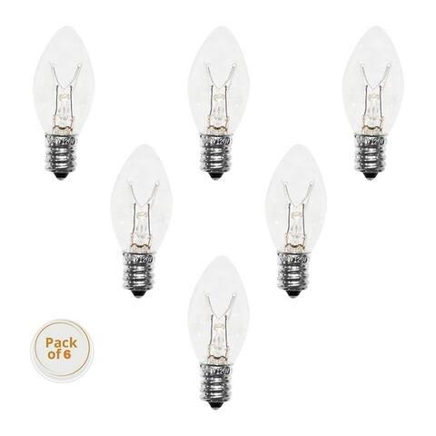 Himalayan Glow Salt Lamps Bulbs 40 W ,6 pcs