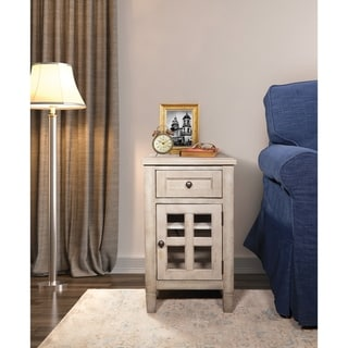 Drayton Side Table with USB Power Plug