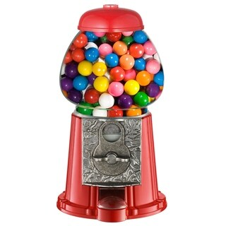 """Great Northern 11"""" Vintage Old Fashioned Candy Gumball Machine Bank Toy"""