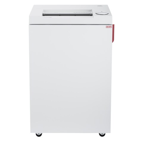 ideal. 2465 Continuous Operation Cross-Cut Deskside Shredder, 13-15 Sheets, 9-Gallon Bin, P-4 Security Level
