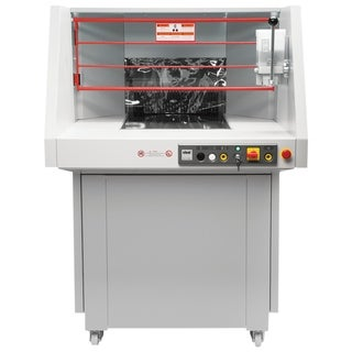 ideal. 5009 High Capacity Continuous Operation Cross-Cut Shredder with Oiler, 600-700 Sheets, 79-Gallon, P-2 Security Level