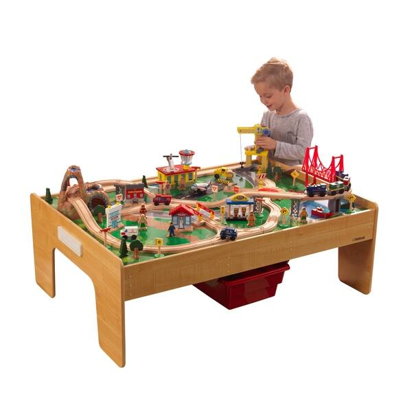 Fantastic Shop Kidkraft Adventure Town Railway Train Set Table With Frankydiablos Diy Chair Ideas Frankydiabloscom