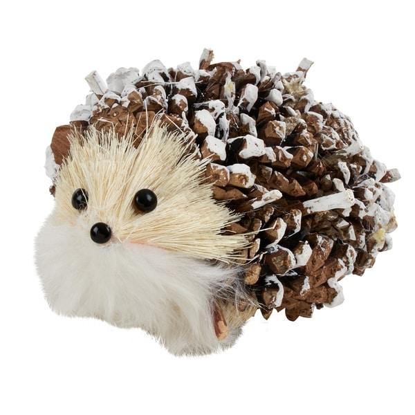 Hedgehog Shaped Large Figurines (Set of 4)