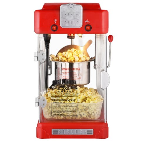 Great Northern Popcorn Machine Pop Pup Retro Style Popcorn , 2.5oz - 2.5 oz