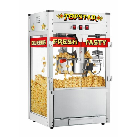 Great Northern TopStar Commercial Quality Bar Style Popcorn Machine, 12oz - 12 oz