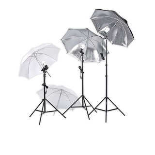 Square Perfect Photography Studio Lighting Umbrella Soft Light Kit