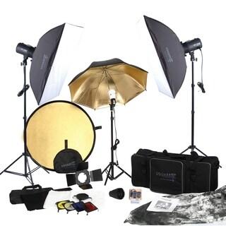 Square Perfect Complete Portrait Studio Kit