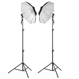 Shutter Starz Photography Studio 2 x 65 Watts Lighting Umbrella Kit