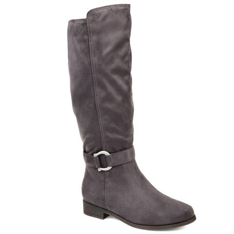 Journee Collection Women's Comfort Cate High-Low Boot