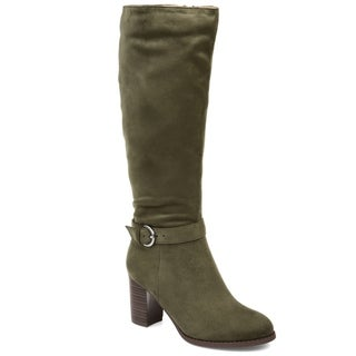 Link to Journee Collection Joelle Women's Comfort Microsuede Boots Similar Items in Women's Shoes