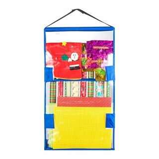 Tiny Tim Totes Double Sided Hanging Gift Wrap and Bag Organizer