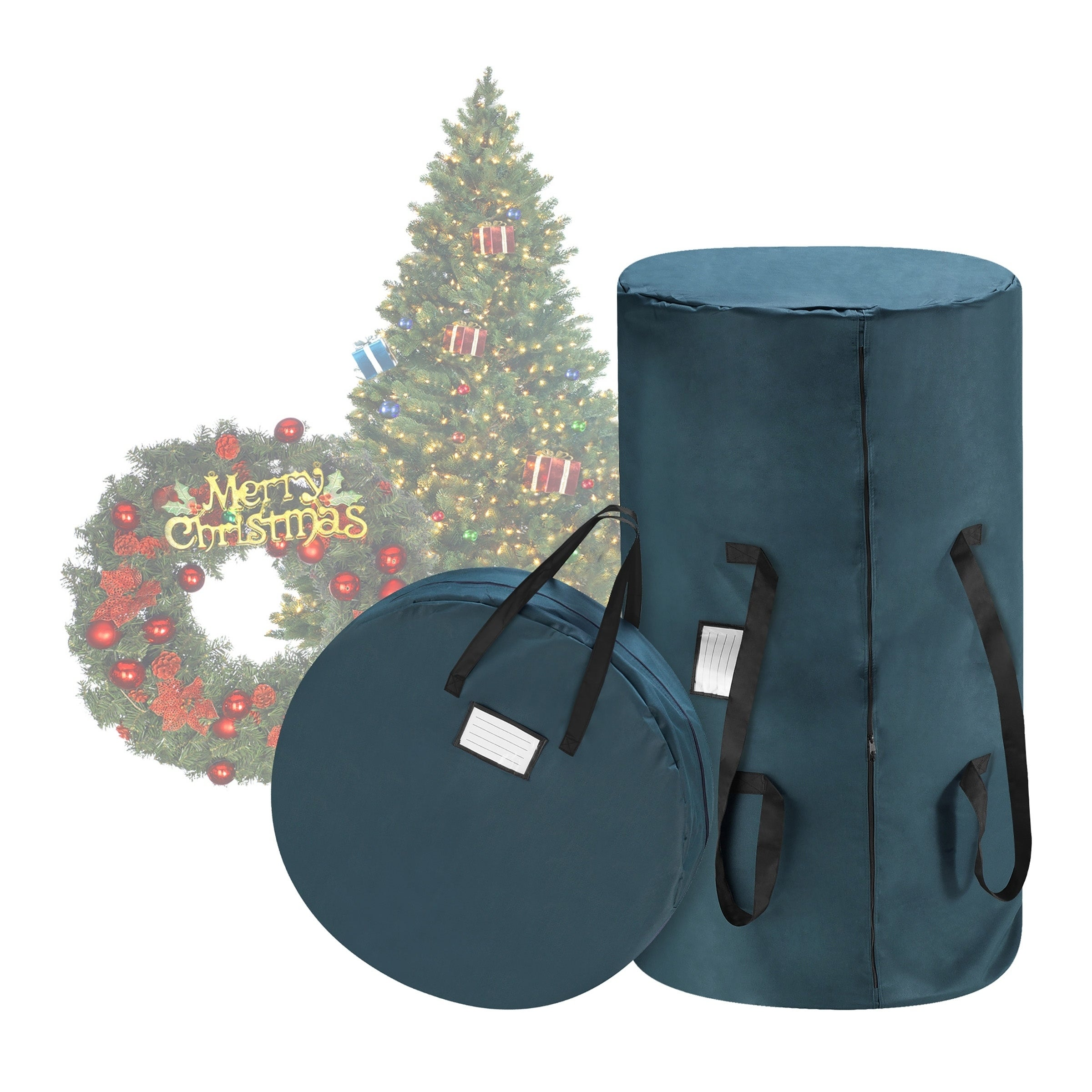 Christmas Tree Storage Bag.Tim Totes Canvas Christmas Tree Storage Bag 30 Wreath Bag