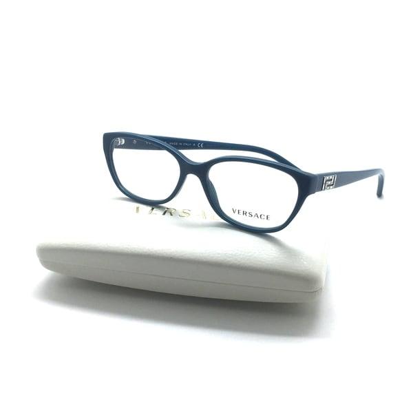 bc54f4c49e7 Shop Versace Mod. Teal 5058 Crystal Eyeglasses Frame 52-15-140 Italy ...