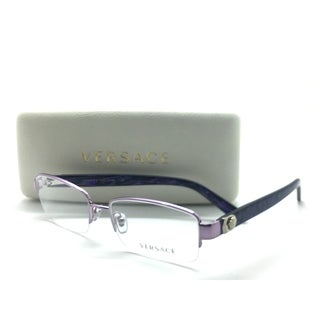 da91fcd3fa4a Shop Versace Semi Rimless Purple Marble 1185-B 1012 51mm Frames Eyeglasses  - Free Shipping Today - Overstock - 23463349