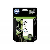 Original HP 65 Black/65 Color Ink Cartridges ,T0A36AN, Combo 2/Pack