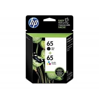 Original HP 65 Black/65 Color Ink Cartridges ,T0A36AN, Combo 2/Pack