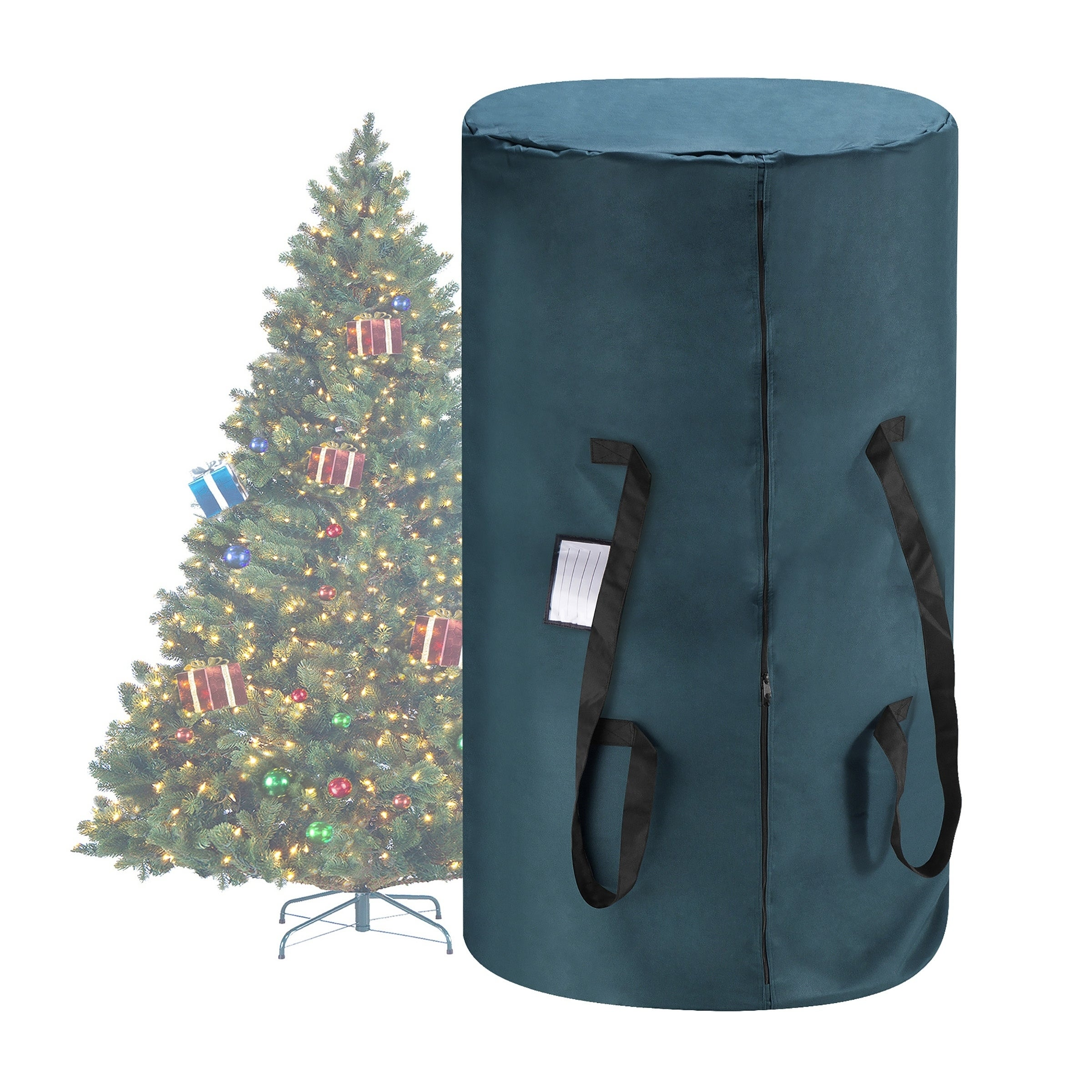 Christmas Tree Storage Bag.Tiny Tim Totes Canvas Christmas Tree Storage Bag Large For 9 Tree