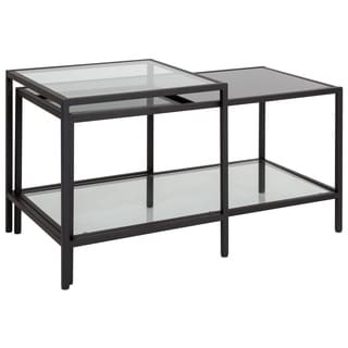 Westerly Multi-Tiered Glass Coffee Table