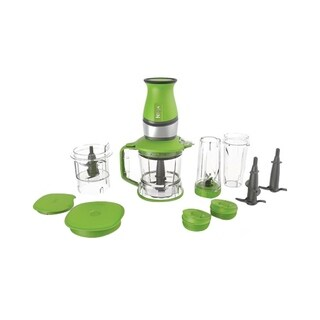 Refurbished Nutri Ninja700 Watts 2-in-1 Blender and Food Processor-QB3000