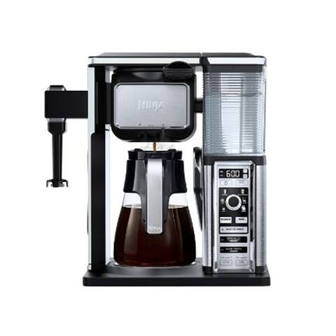 Refurbished Ninja Coffee Bar Glass Carafe System W/ Frother-CF090