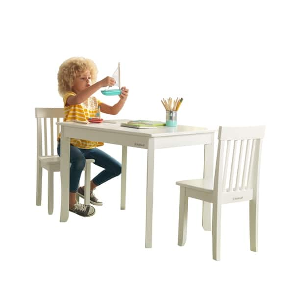 Swell Shop Kidkraft Avalon Table Ii 2 Chair Set White Free Bralicious Painted Fabric Chair Ideas Braliciousco