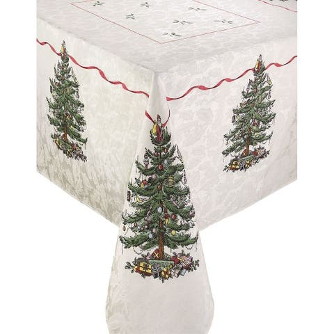 Buy Christmas Tablecloths Online At Overstock Our Best