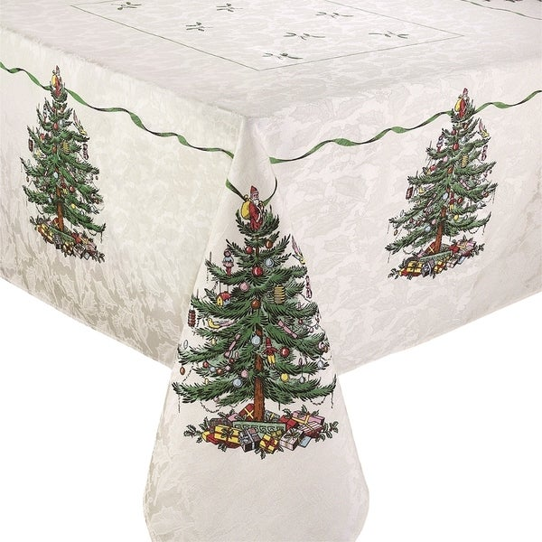 Shop Spode Red Tree 60X144 Tablecloth   Free Shipping Today   Overstock.com    23465589