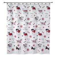 Happy Pawlidays Shower Curtain