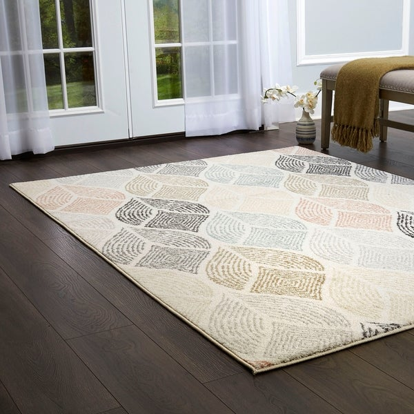 Shop New Weave Ivory Multi Tribal Print Area Rug By Home